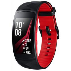Samsung Galaxy Gear Fit 2 Pro 1.5 (SM-R365NZRASER) (черный) - Умные часы, браслетУмные часы и браслеты<br>Фитнес-браслет, влагозащищенный, сенсорный AMOLED-экран, 1.5quot;, 216x432, уведомление о входящем звонке, совместимость с Android, мониторинг сна, калорий, физической активности.