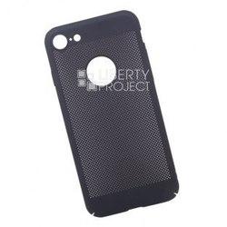 Чехол-накладка для Apple iPhone 7, 8 (0L-00034047) (темно-синий) - Чехол для телефонаЧехлы для мобильных телефонов<br>Чехол плотно облегает корпус телефона и гарантирует его надежную защиту от царапин и потертостей.
