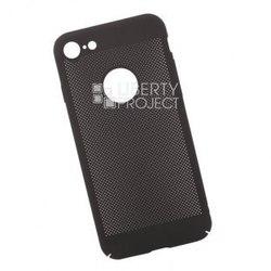 Чехол-накладка для Apple iPhone 7, 8 (0L-00034046) (черный) - Чехол для телефонаЧехлы для мобильных телефонов<br>Чехол плотно облегает корпус телефона и гарантирует его надежную защиту от царапин и потертостей.