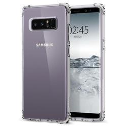 Чехол-накладка для Samsung Galaxy Note 8 (Spigen Crystal Shell 587CS21839) (кристально-прозрачный) - Чехол для телефонаЧехлы для мобильных телефонов<br>Обеспечит защиту устройства от ударов и падений.