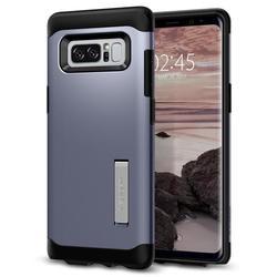 Чехол-накладка для Samsung Galaxy Note 8 (Spigen Slim Armor 587CS21836) (серая орхидея) - Чехол для телефонаЧехлы для мобильных телефонов<br>Защитит смартфон от грязи, пыли, брызг и других внешних воздействий.
