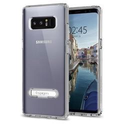 Чехол-накладка для Samsung Galaxy Note 8 (Spigen Ultra Hybrid S 587CS22067) (кристально-прозрачный) - Чехол для телефонаЧехлы для мобильных телефонов<br>Обеспечит защиту устройства от ударов и падений.
