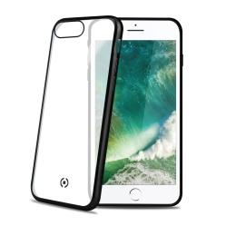 Чехол-накладка для Apple iPhone 7 Plus, 8 Plus (Celly Laser Matt LASERMATT801BK) (чёрный кант) - Чехол для телефона  - купить со скидкой