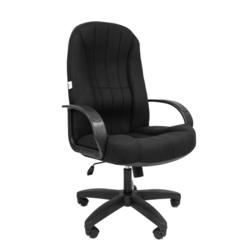 Русские кресла РК 185 10-356 (черный) - Стул офисный, компьютерныйКомпьютерные кресла<br>Русские кресла РК 185 - офисное кресло, обивка ткань, подлокотники и крестовина из пластика, механизм топ-ган (фиксация в рабочем положении), газлифт, макс. вес 120кг.