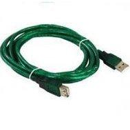 Кабель USB2.0 USB AM - USB AF 1.8m (Aopen/Qust ACU201TG-1.8MG) (зеленый) - КабелиUSB-, HDMI-кабели, переходники<br>Кабель удлинительный USB2.0, разъемы USB AM и USB AF, длина 1.8м.