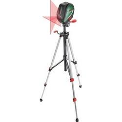 Bosch UniversalLevel 3 Set (0603663901) - Измерительный инструментИзмерительный инструмент<br>Нивелир лазерный, автоматическое выравнивание, 2 луча (горизонталь/вертикаль), 3 режима работы нивелира: проекция двух лазерных линий, 3 лазерные линии + отвес, режим наклона; погрешность +/- 0.5 мм/м, рабочий диапазон 10 м, резьба для штатива 1/4apos;apos;, штатив в комплекте
