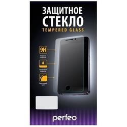 Защитное стекло для Samsung Galaxy J7 2017 (Perfeo PF-TG-FA-SAM-J7(17)W) (белый) - ЗащитаЗащитные стекла и пленки для мобильных телефонов<br>Защитное стекло убережет экран от повреждений.