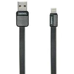 Кабель USB-Lightning 1м (REMAX Platinum Series Cable RC-044i) (черный) - КабелиUSB-, HDMI-кабели, переходники<br>Высококачественный кабель для зарядки и синхронизации устройств с разъемами USB - Lightning, длина 1 м.