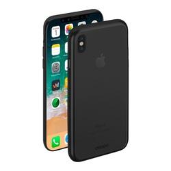 Чехол-накладка для Apple iPhone X (Deppa Gel Plus 85336) (черный) - Чехол для телефонаЧехлы для мобильных телефонов<br>Защитит устройство от пыли, царапин и других негативных воздействий.