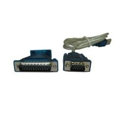 Кабель+переходник USB 2.0-D-Sub (Espada PAUB014) - Кабель, переходникКабели, шлейфы<br>Кабель: USB type A 4 pin male, D-Sub 9 pin male, переходник: D-Sub 9 pin female, D-Sub 25 pin male.
