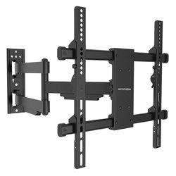 Arm Media PARAMOUNT-40 (черный) - Подставка, кронштейнПодставки и кронштейны<br>Для использования с телевизорами диагональю 26-65quot;, весом до 50кг. Расстояние телевизора от стены 62-615мм, настенный, наклонно-поворотный, угол наклона 3 -10 градусов, угол поворота 180 градусов, вращение экрана ±3 градуса, VESA от 100x100 до 400x400.