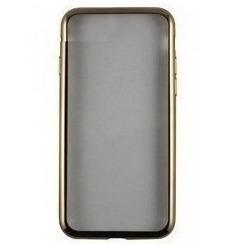 Чехол-накладка для Samsung Galaxy J7 2016 (iBox Blaze YT000012605) (золотистая рамка) - Чехол для телефонаЧехлы для мобильных телефонов<br>Чехол плотно облегает корпус и гарантирует надежную защиту от царапин и потертостей.