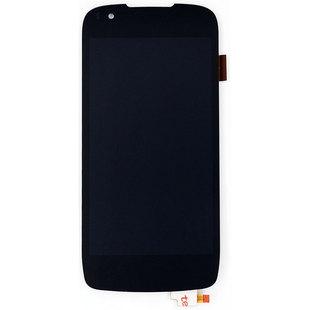 Дисплей для Fly EVO Chiс 1 IQ4405 с тачскрином Qualitative Org (lcd) (черный) - Дисплей, экран для мобильного телефона