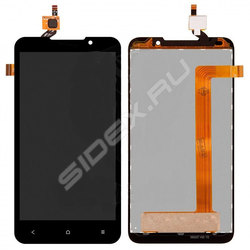 Дисплей для HTC Desire 516 Dual Sim с тачскрином Qualitative Org (LP) (черный) - Дисплей, экран для мобильного телефона