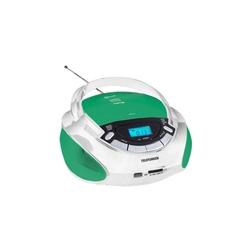 Telefunken TF-CSRP3492B (белый, зеленый) - МагнитолаМагнитолы<br>Аудиомагнитола Telefunken TF-CSRP3492B - 3 Вт, CD, CDRW, MP3, FM(dig), USB, SD, MMC.
