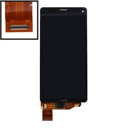 Дисплей для Sony Xperia Z3 Compact с тачскрином Qualitative Org (LP1) (черный) - Дисплей, экран для мобильного телефона, Liberti Project  - купить со скидкой