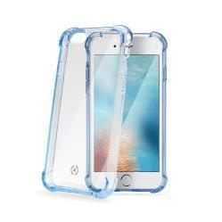 Чехол-накладка для Apple iPhone 7, 8 (Celly Armor ARMOR800LB) (голубой) - Чехол для телефонаЧехлы для мобильных телефонов<br>Чехол плотно облегает корпус и гарантирует надежную защиту от царапин и потертостей.