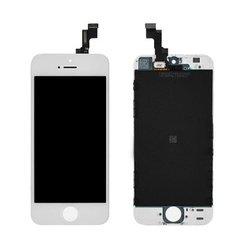 Дисплей для Apple iPhone 5S с тачскрином Qualitative Org (LP1) (белый)  - Дисплей, экран для мобильного телефона