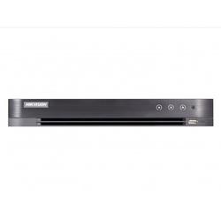 Hikvision DS-7204HQHI-K1/P - Видеорегистратор системы видеонаблюденияВидеорегистраторы систем видеонаблюдения<br>Поддержка аналоговых, HD-TVI, AHD, CVI и IP-камер, 4 канала, запись видео с разрешением до 1080p HD-TVI4Мп IP, 1 SATA HDD до 6ТБ, 4/1 аудио входа/выхода, 1 RJ45 10M/100M сетевых интерфейса.