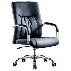 SmartBuy SB-A528 - Стул офисный, компьютерныйКомпьютерные кресла<br>SmartBuy SB-A528 - Компьютерное кресло, выдерживает вес до 120 кг, механизм качания