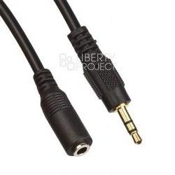 Кабель-удлинитель miniJack 3.5mm (m) - miniJack 3.5mm (f) 3м (0L-00033036) (черный/европакет) - Кабель, разъем для акустической системыКабели и разъемы для акустических систем<br>Кабель-удлинитель предназначен для передачи аудиоданных между устройствами с разъёмами miniJack. Обеспечивает высококачественную передачу сигнала без помех и искажений.