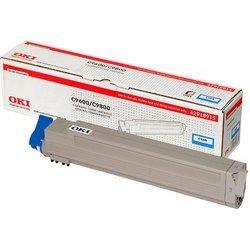 Картридж для OKI C9600, 9800 OKI-42918915 (голубой) - Картридж для принтера, МФУКартриджи<br>Голубой тонер-картридж OKI-42918915 для OKI 9600, 9800 позволит сделать 15000 копий.