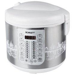 Scarlett SC-MC410S21 - МультиваркаМультиварки<br>Scarlett SC-MC410S21 - мультиварка, 5 л, 900 Вт, электронная, мультиповар, программ: 28