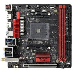 ASRock Fatal1ty X370 Gaming-ITX/ac RTL - Материнская платаМатеринские платы<br>ASRock Fatal1ty X370 Gaming-ITX/ac - AMD X370, 1xAM4, 2xDDR4 DIMM, 1xPCI-E x16, встроенный звук: HDA, 7.1, Ethernet: 1000 Мбит/с, форм-фактор mini-ITX, HDMI