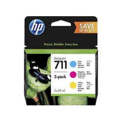 Картридж для HP DesignJet T120, T520 (P2V32A HP 711) (CMY) (3 шт) - Картридж для принтера, МФУ