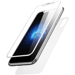 Комплект защитных стекол для Apple iPhone X, Xs (Baseus Glass Film Set SGAPIPHX-TZA2) (белый) - ЗащитаЗащитные стекла и пленки для мобильных телефонов<br>Baseus Glass Film Set SGAPIPHX-TZA2 представляет собой комплект защитных стекол для фронтальной и тыльной стороны нового iPhone X, Xs. Изделия отличаются сверхтонким форм-фактором и высокой прочностью.