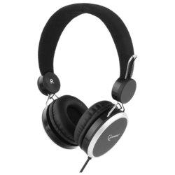 Gembird MHP-300 (черный) - НаушникиНаушники и Bluetooth-гарнитуры<br>Наушники, накладные, 32 Ом, 102 дБ, разъем mini jack 3.5 mm, вес 135 г.