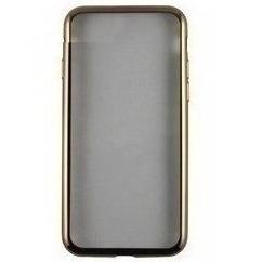 Чехол-накладка для Huawei Honor 9 (iBox Blaze YT000013103) (золотистая рамка) - Чехол для телефонаЧехлы для мобильных телефонов<br>Чехол плотно облегает корпус и гарантирует надежную защиту от царапин и потертостей.