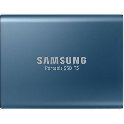 Внешний SSD Samsung Portable SSD T5 500GB (MU-PA500B/WW) - Внешний жесткий дискВнешние жесткие диски и SSD<br>Samsung Portable SSD T5 500GB - внешний, 1.8quot;, USB 3.1 Type-C, SSD (твердотельный), 500 Гб