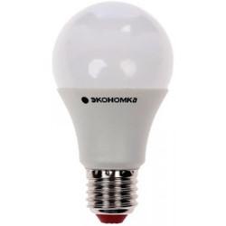 Лампа Экономка А60 (EcoL25wA60230vE2730) - ЛампочкаЛампочки<br>Светодиодная лампа, рабочее напряжение 220 В, мощность 25 Вт, цоколь Е27, колба А60, цветовая температура 3000 К, световой поток 2400 Лм, срок службы 30000 часов.