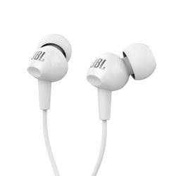 JBL C100SIU (белый) - НаушникиНаушники и Bluetooth-гарнитуры<br>Наушники с микрофоном, частота 20-20000Гц, 16 Ом, 100дБ, подключение minijack 3.5mm.