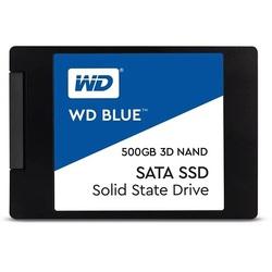 Western Digital WD BLUE 3D NAND SATA SSD 500 GB (WDS500G2B0A) - Внутренний жесткий диск SSDВнутренние твердотельные накопители (SSD)<br>SSD, 2.5quot;, 500Гб, SATA III.