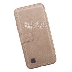 Кожаный чехол-накладка для Apple iPhone X (Puloka Multi-Function Back Clip Wallet Case 0L-00034732) (золотистый) - Чехол для телефонаЧехлы для мобильных телефонов<br>Обеспечит надежную защиту Вашего мобильного устройства от повреждений, загрязнений и других нежелательных воздействий. Кроме того, обладает дополнительными ячейками для визиток и пластиковых карт.