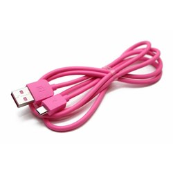 Кабель USB-MicroUSB 1м (REMAX Light Series Cable RC-06m) (розовый) - Usb, hdmi кабель, переходник
