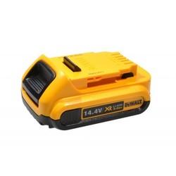 Аккумулятор для инструмента Dewalt (2 Ah 14.4 V) (N342079) (желтый) - АккумуляторАккумуляторы и зарядные устройства<br>Аккумулятор, емкость 2 Ah, напряжение 14.4 V, химический состав: Li-Ion. Совместим с моделями инструмента  Dewalt: DCD720, DCD720C1, DCD730, DCD730C, DCD730C2, DCD730L, DCD730L2, DCD730M2, DCD735, DCD735C, DCD735C2, DCD735L, DCD735L2, DCD735M2, DCD735N, DCD931, DCD931L2, DCD931M2, DCD936, DCD936L2, DCF830, DCF830M2, DCF835, DCF835C2, DCF835L2, DCK232C2, DCK235C2, DCK235L2, DCK236C2, DCL030, DCS320, DCS320L2.
