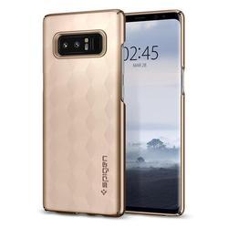 Чехол-накладка для Samsung Galaxy Note 8 (Spigen Thin Fit 587CS22053) (золотистый) - Чехол для телефонаЧехлы для мобильных телефонов<br>Защитит смартфон от грязи, пыли, брызг и других внешних воздействий.