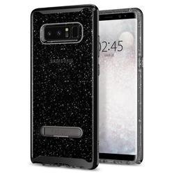 Чехол-накладка для Samsung Galaxy Note 8 (Spigen Crystal Hybrid Glitter 587CS21843) (дымный кварц) - Чехол для телефонаЧехлы для мобильных телефонов<br>Обеспечит защиту телефона от царапин, потертостей и других нежелательных внешних воздействий.