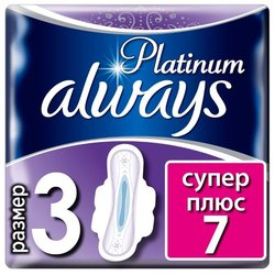 Прокладки Always Platinum Ultra Super Plus