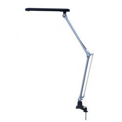 Smartbuy SBL-DL-7-NWFix (серебристый) - ОсвещениеНастольные лампы и светильники<br>Светодиодный настольный светильник, максимальная мощность - 7Вт, регулируемая ножка, отсутствие пульсаций светового потока.