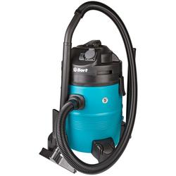 Bort BSS-1335-Pro (98297072) - ПылесосПылесосы<br>Пылесос, мощность: 1400Вт; мощность всасывания: 680Вт; объем пылесборника: 35л; питание: от сети; функция сбора жидкости; розетка для электроинструмента.