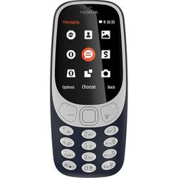 Nokia 3310 Dual Sim (2017) (темно-синий) ::: - Мобильный телефонМобильные телефоны<br>GSM, ШхВхТ 51x115.6x12.8 мм, экран 2.4quot;, 320x240, MP3, FM-радио, Bluetooth, фотокамера 2 МП, память 16 Мб, аккумулятор 1200 мАч.