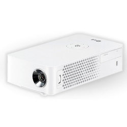 LG PH30JG (белый) - Мультимедиа проекторМультимедиа-проекторы<br>Проектор LG PH30JG - DLP, LED, 720p, 1280x720, 250Lm, 100000:1, HDMI, MHL, USB, USB Type-C, 1x1W speaker, WiFi, Bluetooth, 3D Ready.