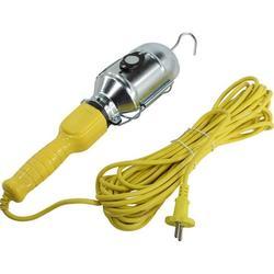 Светильник переноска Smartbuy SBF-CL10-E27 (желтый) - ОсвещениеНастольные лампы и светильники<br>Светильник-переноска, желтый, с проводом 10м и неодимовым магнитом. Жаропрочный и антикоррозийный купол, ручка из ABS-пластика. Питание: от электросети.