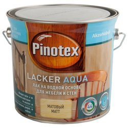 Pinotex Lacker Aqua матовый (2.7 л)