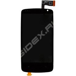 Дисплей для HTC Desire 500 с тачскрином Qualitative Org (LP1) (черный) - Дисплей, экран для мобильного телефонаДисплеи и экраны для мобильных телефонов<br>Полный заводской комплект замены дисплея для HTC Desire 500. Стекло, тачскрин, экран для HTC Desire 500. Если вы разбили стекло - вам нужен именно этот комплект, который поставляется со всеми шлейфами, разъемами, чипами в сборе.