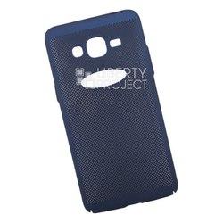 Пластиковый чехол-накладка для Samsung Galaxy J2 Prime (Liberty Project 0L-00035126) (темно-синий) - Чехол для телефонаЧехлы для мобильных телефонов<br>Обеспечит надежную защиту Вашего мобильного устройства от повреждений, загрязнений и других нежелательных воздействий.